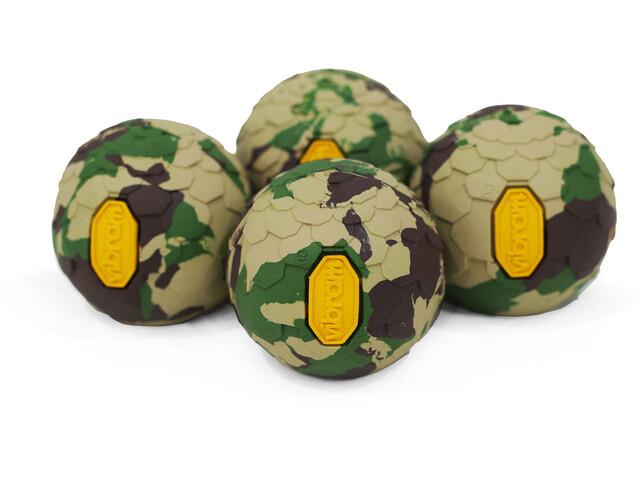 Helinox Vibram Ball Feet Set d'autocollants 4 pièces, field camo